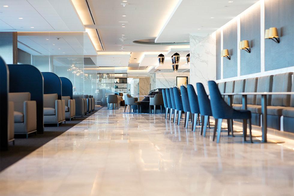 The new United Polaris\u00ae lounge at SFO