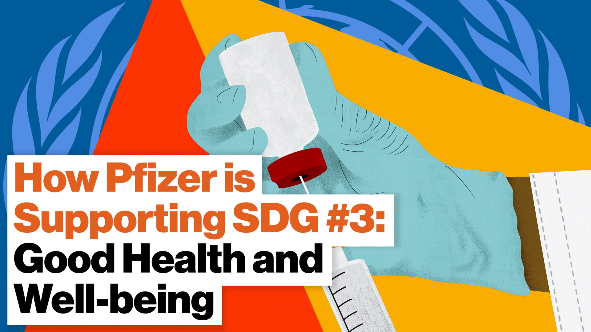How Pfizer is supporting SDG #3: Good health and well-being