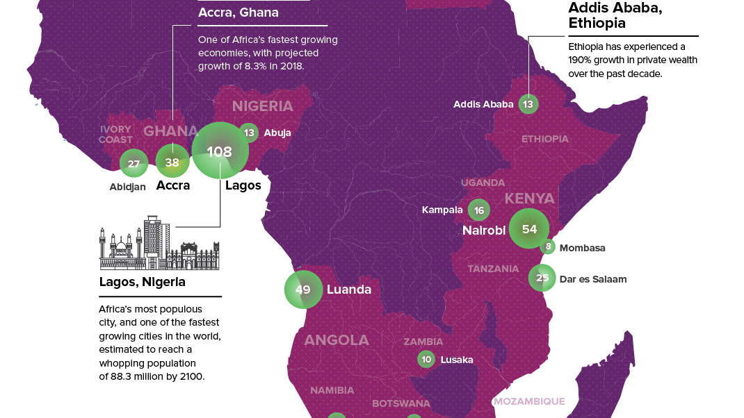 Urban Centres Of Wealth In Africa Big Think