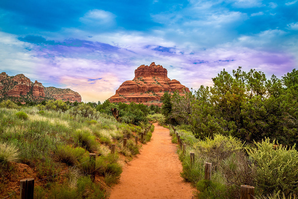 Sedona and Oak Creek Canyon Landscapes