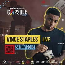 Vince Staples Is Headlining South Africa's Capsule Fest Next