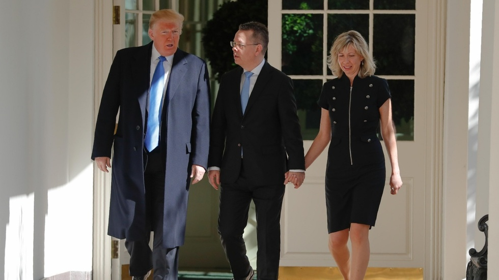 Partner Content - Pastor Brunson went from a Turkish prison to the White House in 24 hours