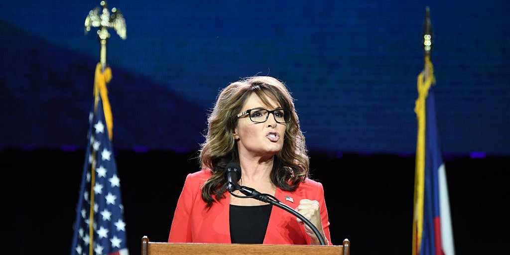 Sarah Palin Cries 'Censorship' After Instagram Removes Meme Using Son With Down Syndrome To Mock Liberals
