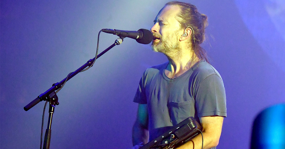 photo of Thom Yorke of Radiohead Releases Song With Greenpeace to Help Antarctica image