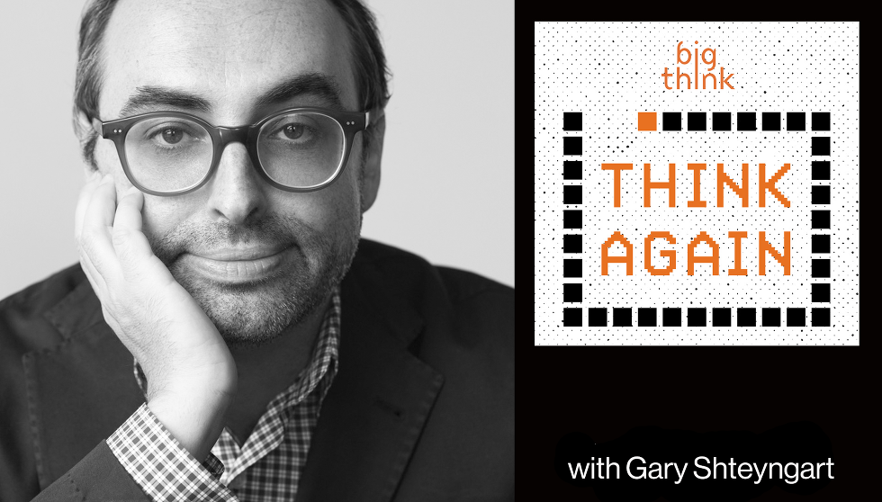 Gary Shteyngart: reality catches up to dystopian fiction