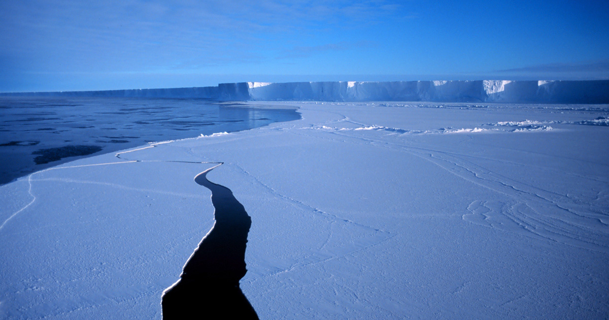 Scientists Study Ice Shelf by Listening to Its Changing Sounds
