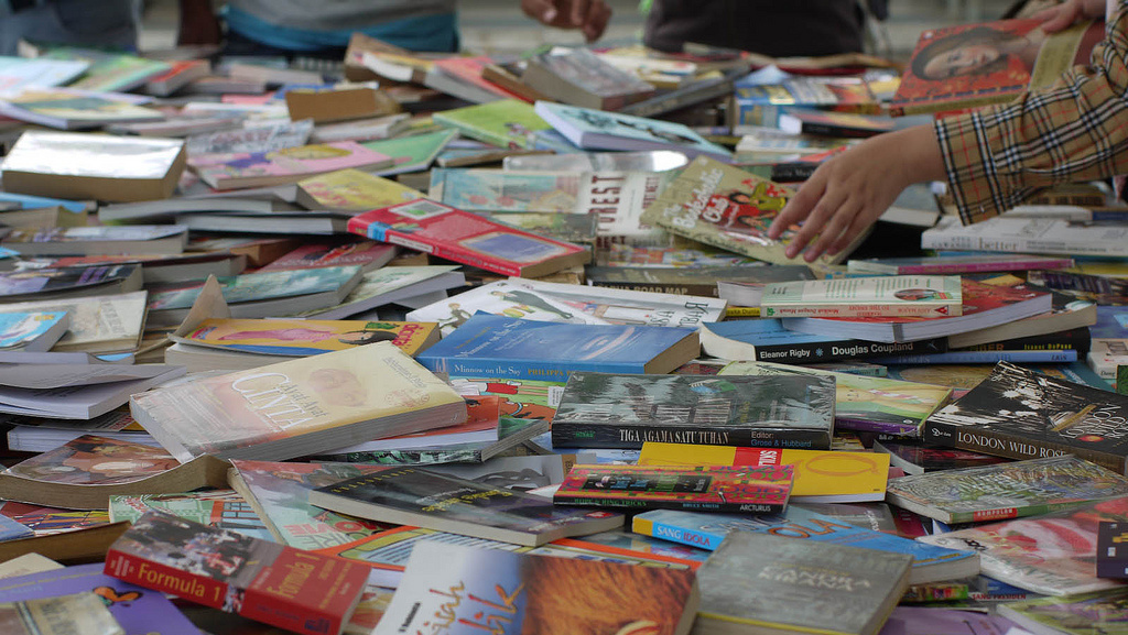 Book swap attendees will no doubt find their antilibrary/\u200btsundoku\u200b\u200b grow.