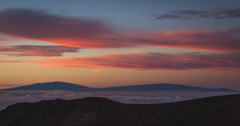 Unsplash- view from Mauna Kea