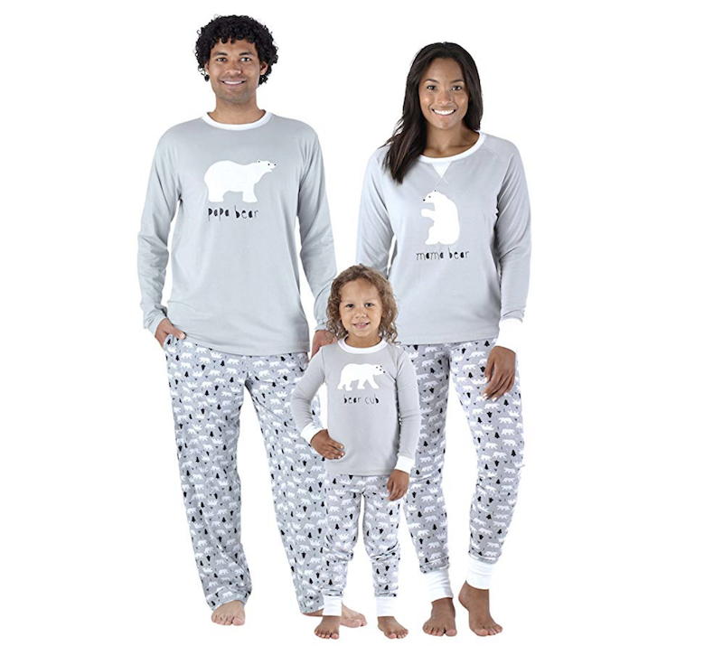 77433ff5f6 Sleepyheads Holiday Family Matching Polar Bear Pajama PJ Sets
