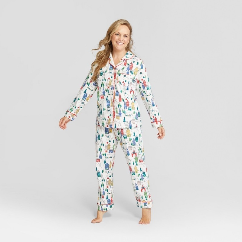 c6aeee604d 15 cozy matching family pajamas for the holidays - Motherly