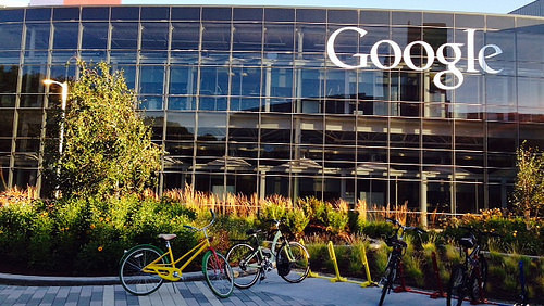 The Google Mountain View campus. As most people, this is where the internet happens.\u200b For others, that's a huge problem.