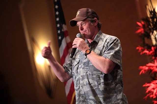 photo image Ted Nugent Being Subtle Again