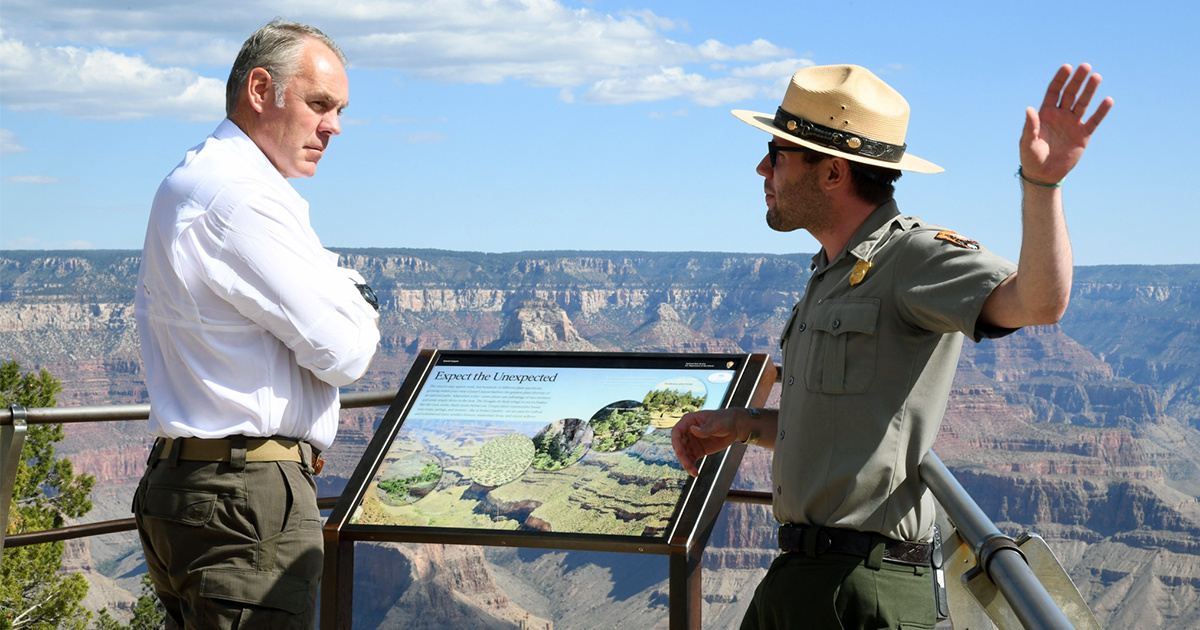 photo image Report: Zinke Plans to Resign, Explores Fox News, Energy Company Boards