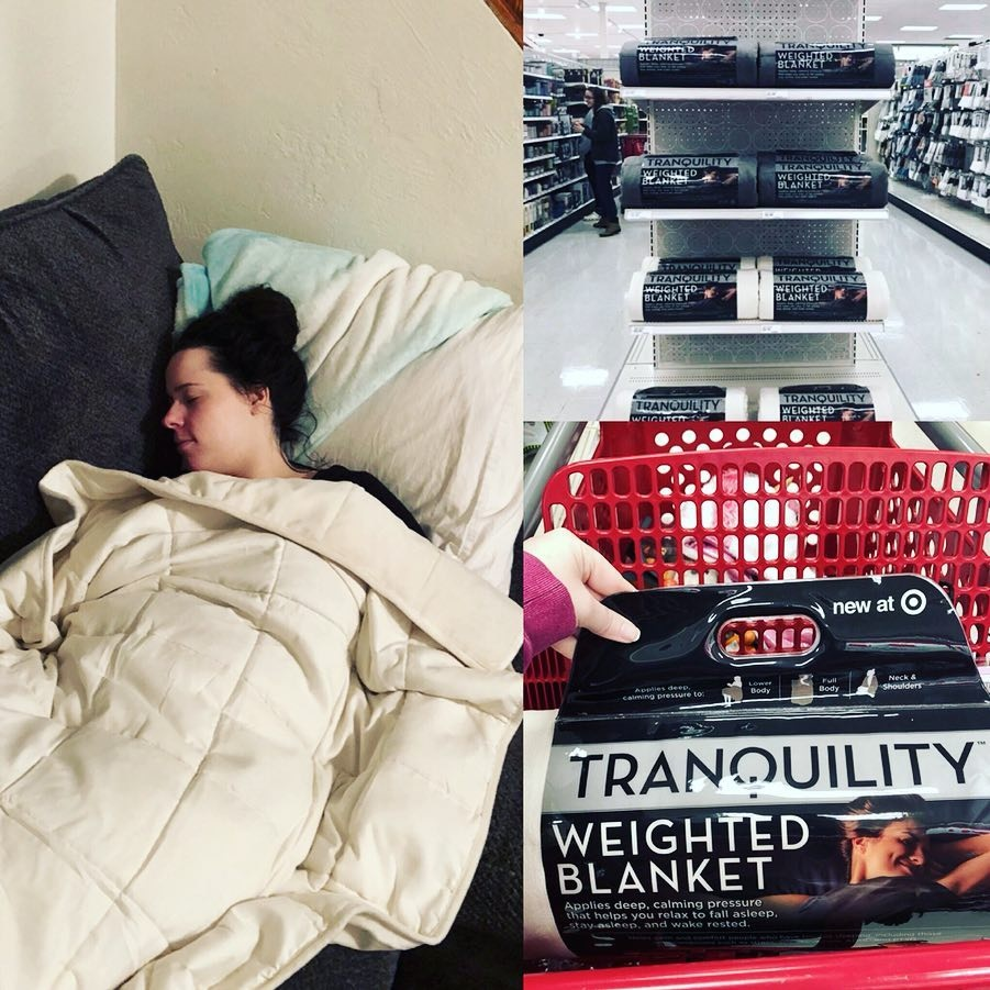 5a3b5239c87f4 Target s selling (affordable!) weighted blankets that might help you sleep  better
