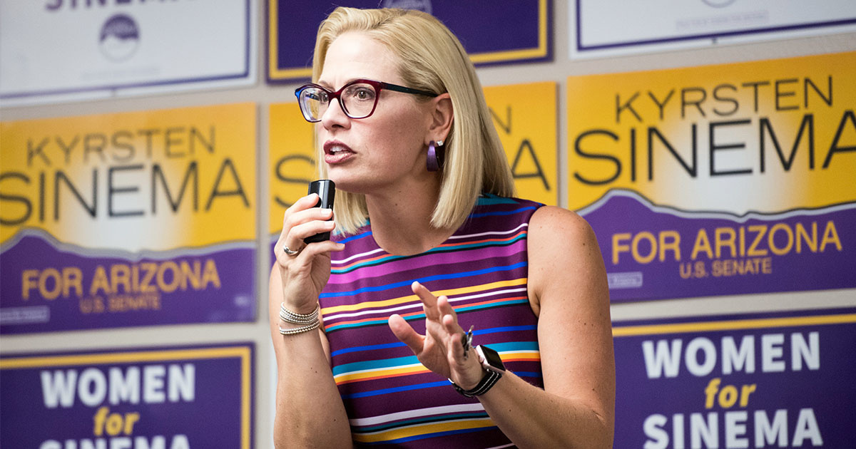 What Kyrsten Sinema's Historic Win Could Mean for the Environment