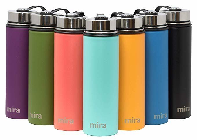 MIRA stainless steel water bottle