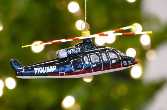 Share using Facebook ... - Eric Trump's Attempt To Sell Christmas Ornaments On Twitter Gets