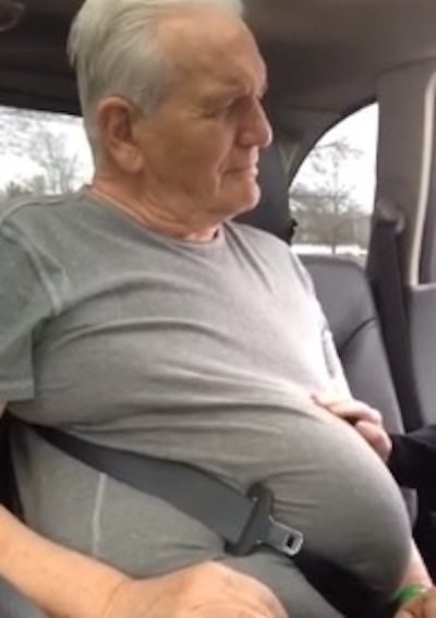 Video Of A 71 Year Old Man Stuck In A Seat Belt That We Guarantee Will Have You Cracking Up Theblaze
