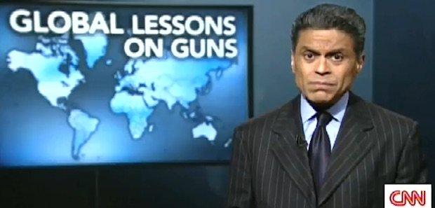 cnn fareed zakaria global lessons on guns