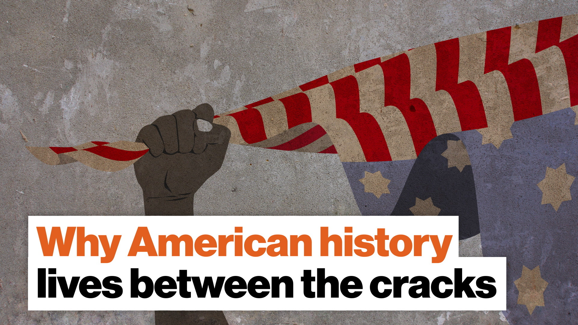 Why American history lives between the cracks