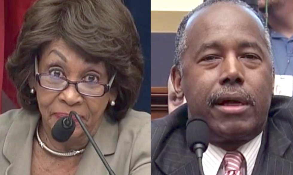 Maxine Waters makes good on promise to attack Ben Carson — here's how he responded
