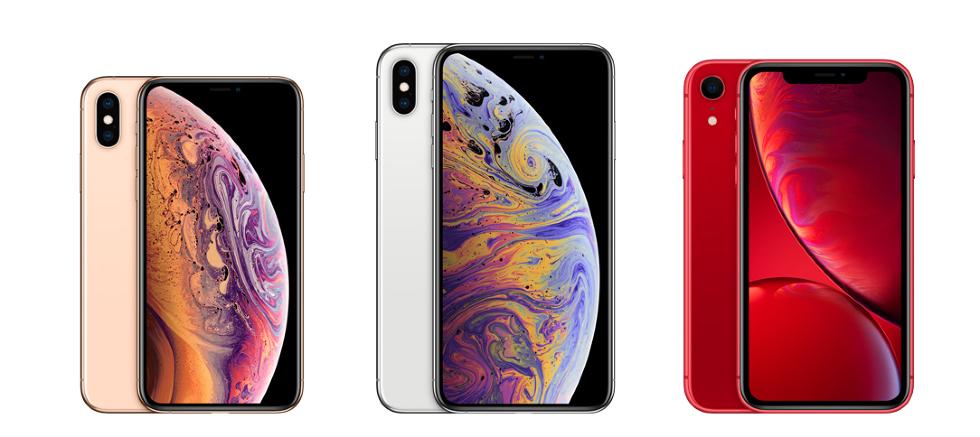 picture of three iphones.