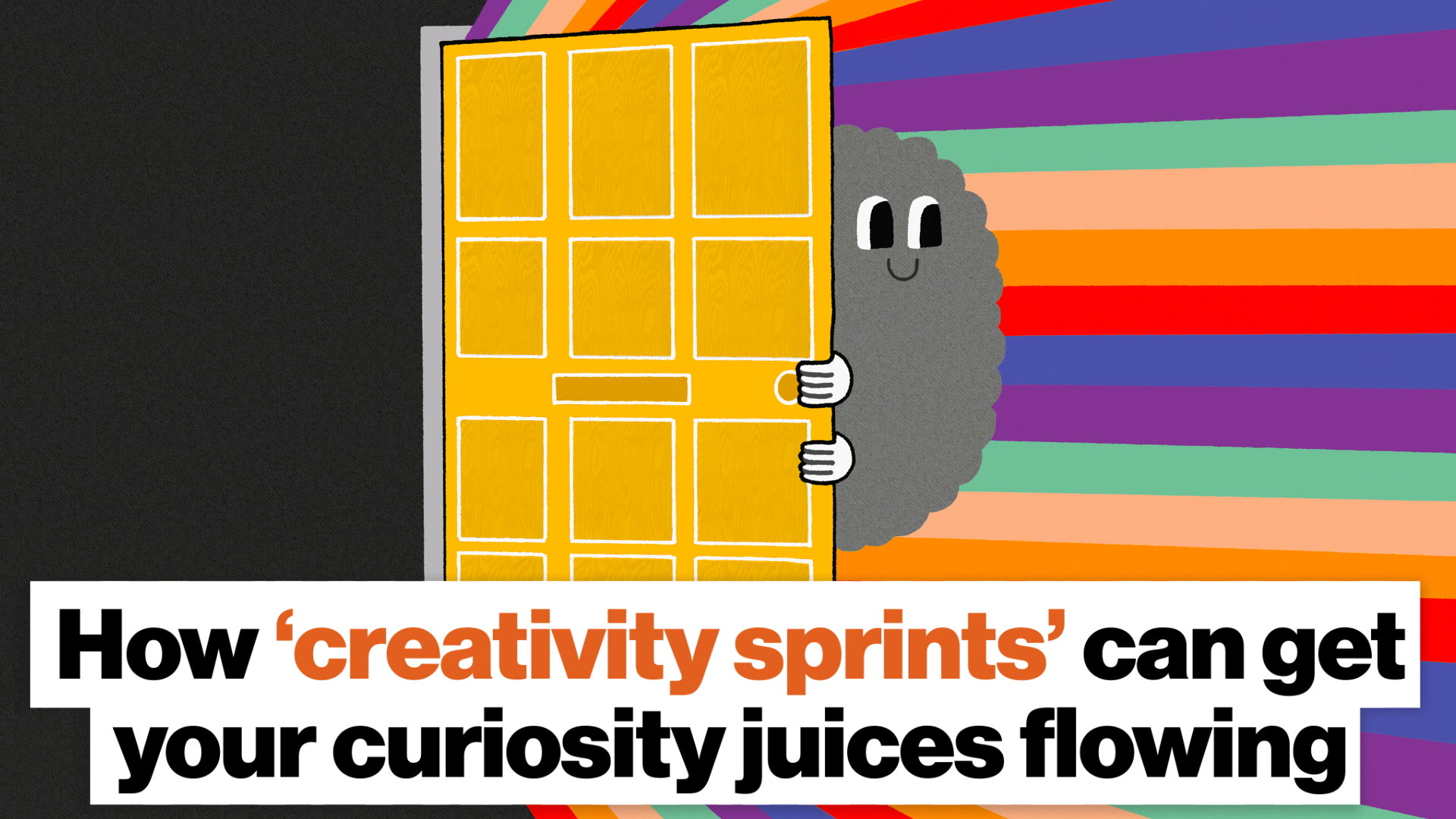 How  creativity sprints  can get your creative brain going