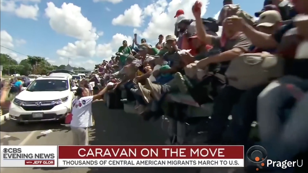 Partner Content - BOMBSHELL: Filmmaker Ami Horowitz blows the lid off media's deceit about the migrant caravan