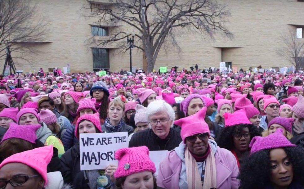 a67bddc26c5 Pink pussyhats of the anti-Trump Women s March are falling out of ...