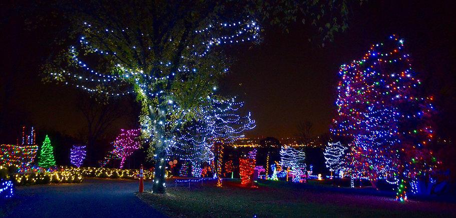 Hamilton, Ohio Holiday Lights on the Hill