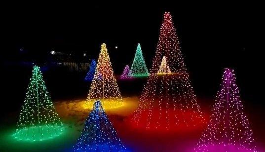 Mansfield, Ohio Christmas at Kingwood