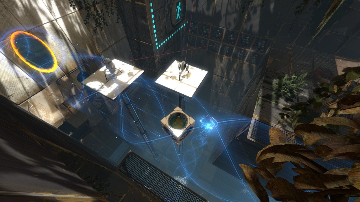 Before playing a game in the Portal series, we probably did not consider the possibility that we would have problems solving the warp-based spatial puzzles.u200b