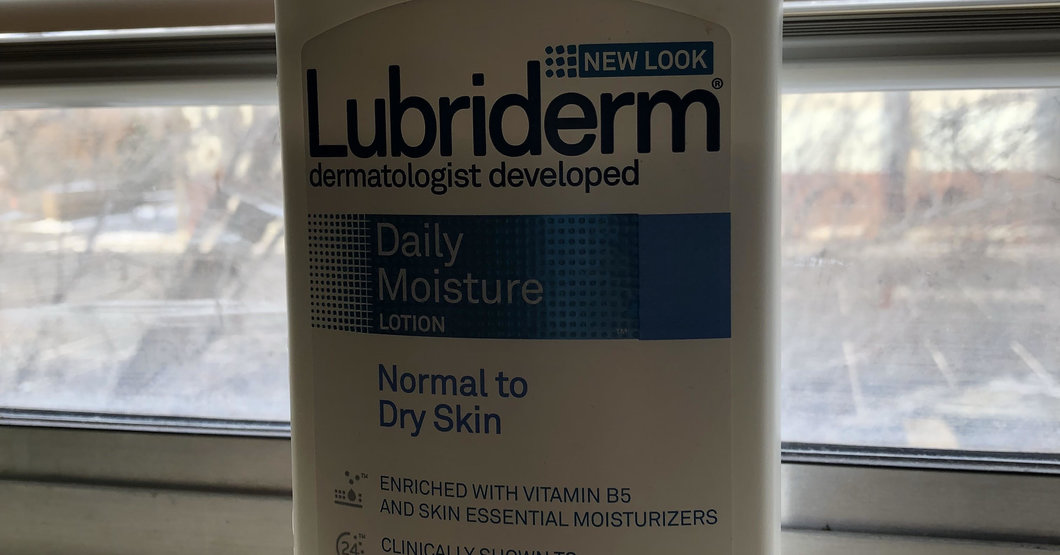 Taylor Wreesman - Lubriderm lotion