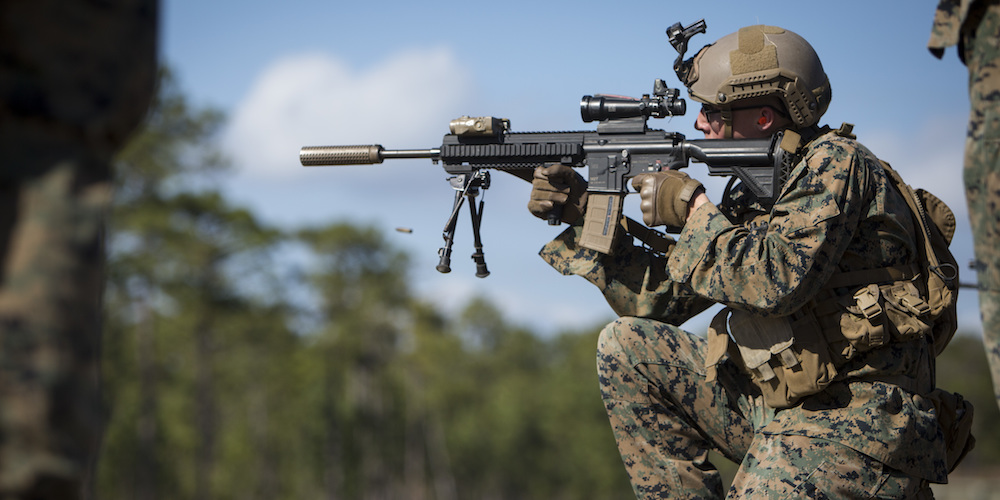 Here S The Marine Corps New Plan To Shake Up Rifle Squads
