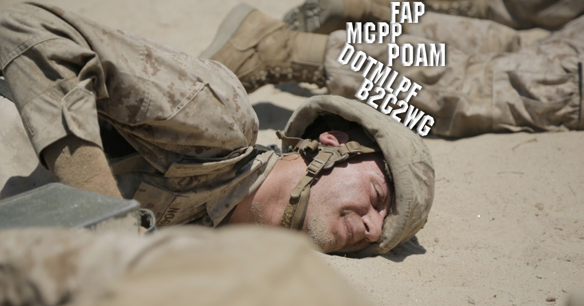 Here Are All The Military's Worst Acronyms - Task & Purpose