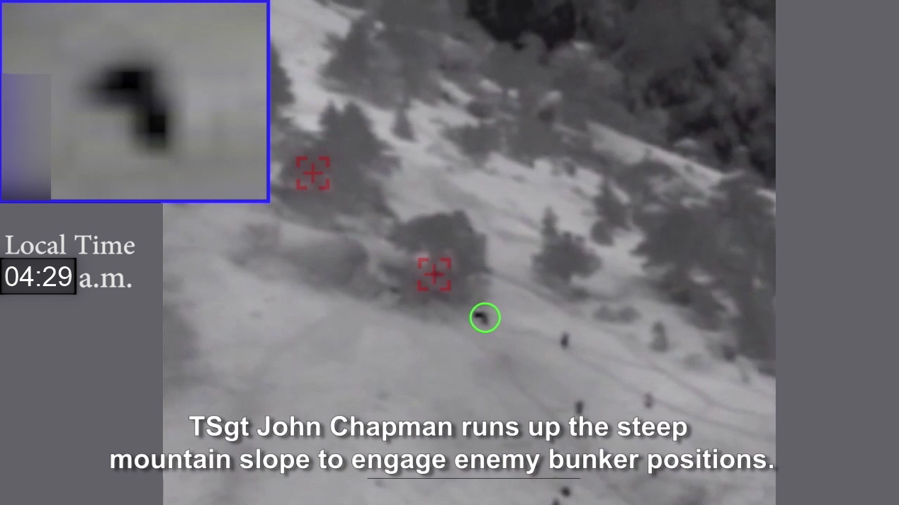 Air Force Releases Video Of John Chapman's Final Heroic Moments That