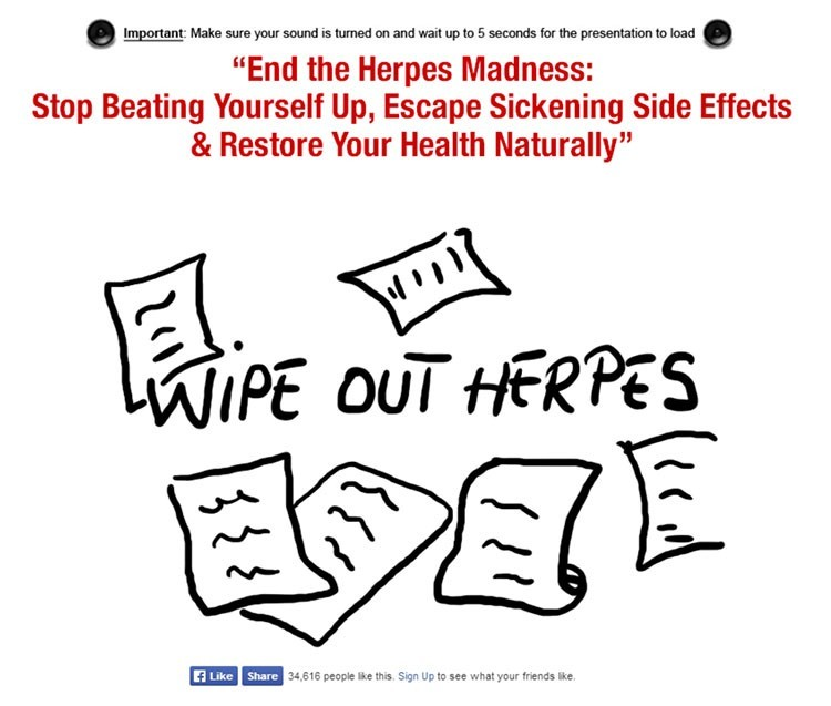 Melanie Addington's unique and highly popular herpes simplex type 1 and type 2 treatment guide 3