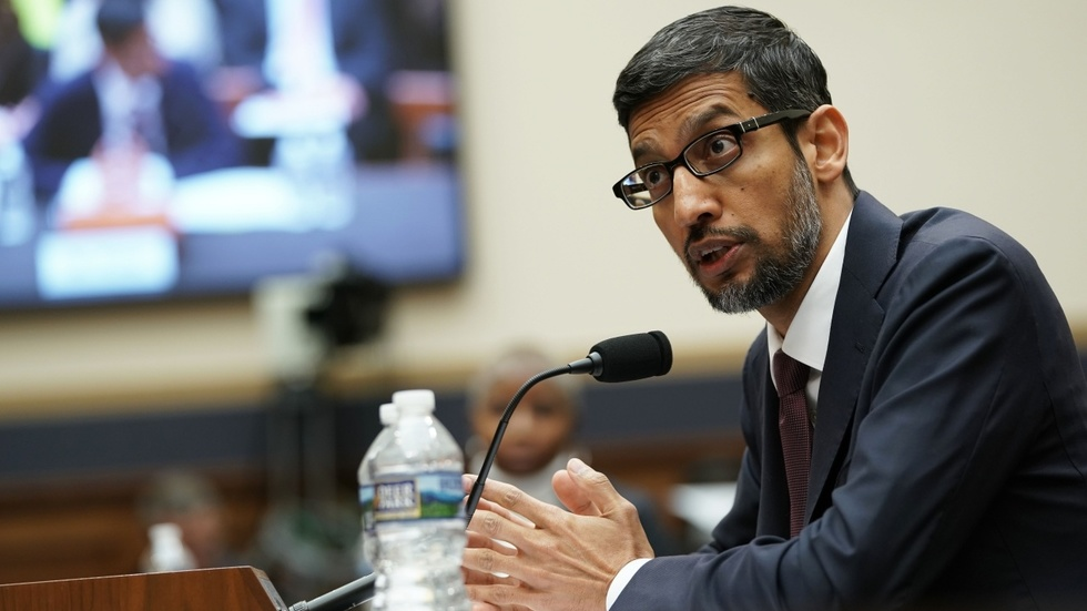 Partner Content - THE ART OF THE DODGE: Google CEO tap dances at taxpayer-funded Q and A