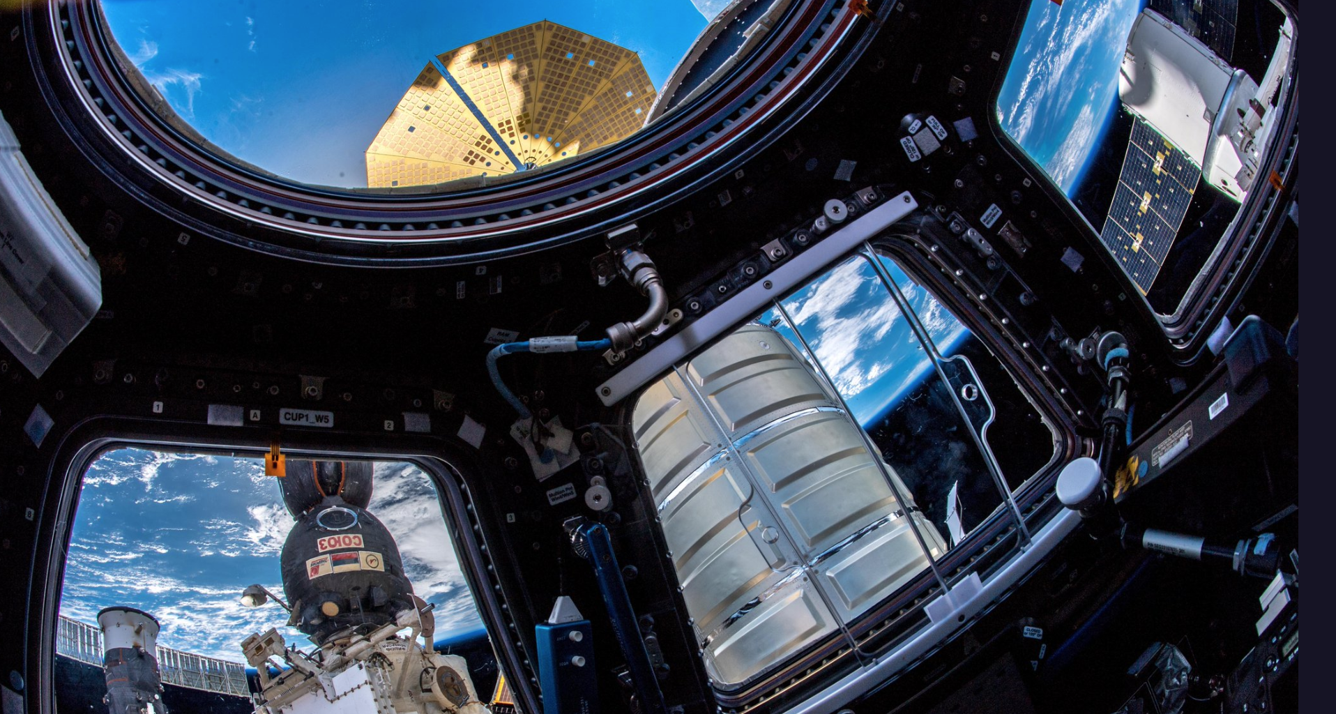'A rare sight': Astronaut snaps incredible photo of 5 spaceships