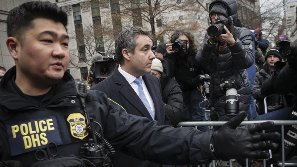 Partner Content - COHEN SENTENCED: Merry Christmas and happy Festivus to the leftist media