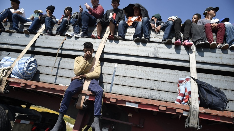 Partner Content - HELD HOSTAGE: Terrorist leader of migrant caravan releases list of demands