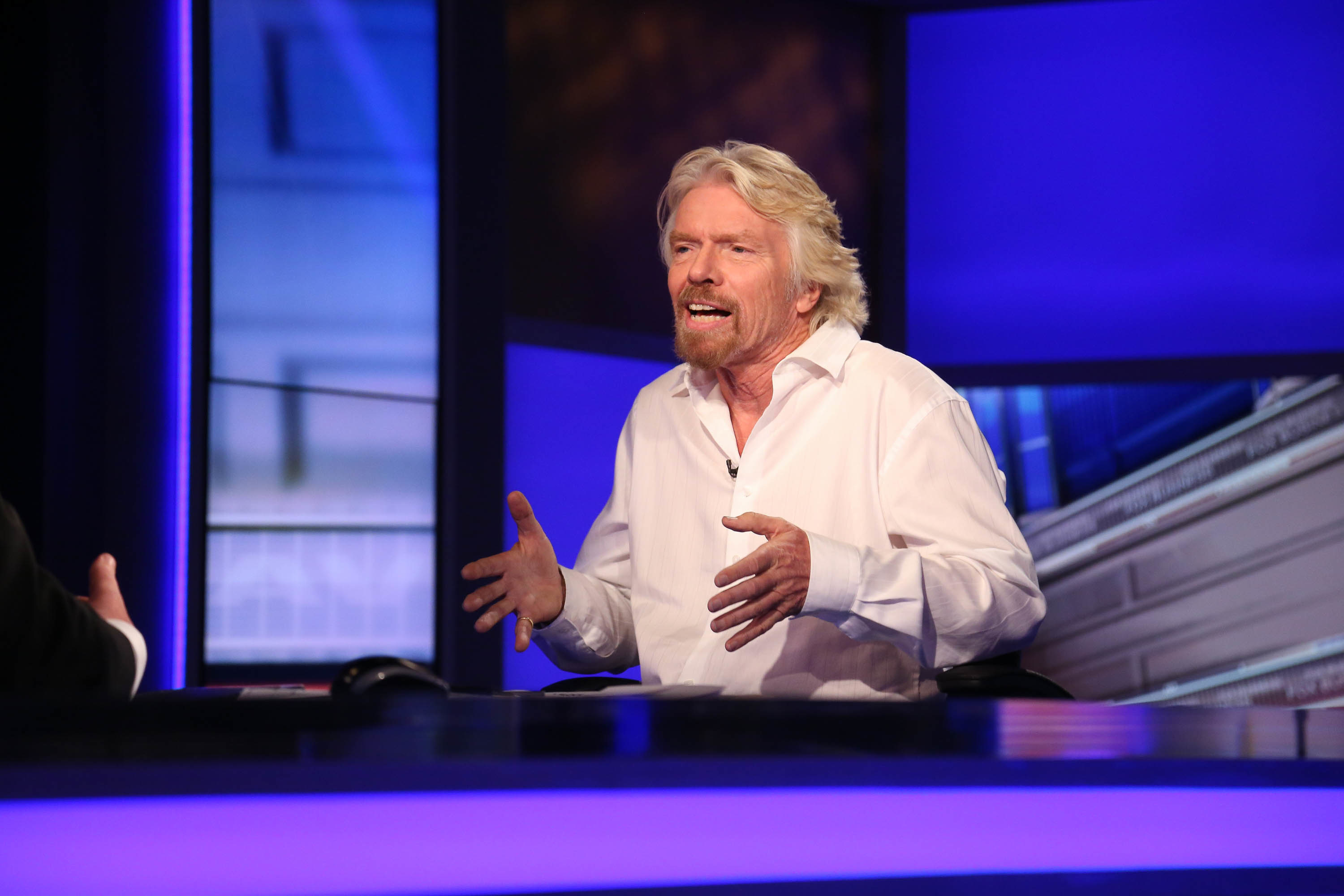 Technology will kill the 9-to-5 work week, says Richard Branson