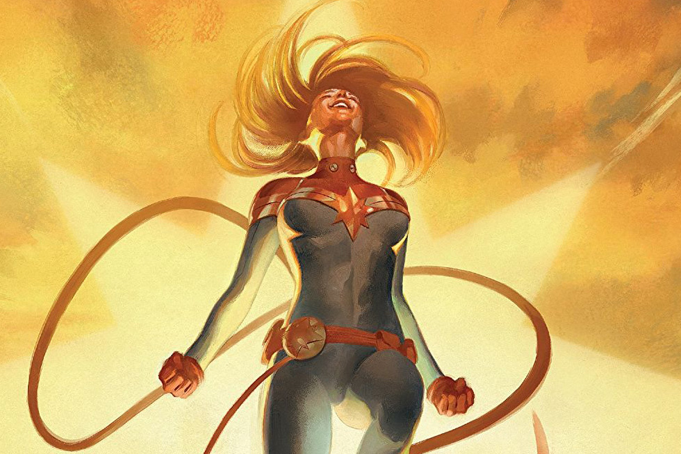 Losses, Journeys, and Ascensions:  The Life of Captain Marvel #5
