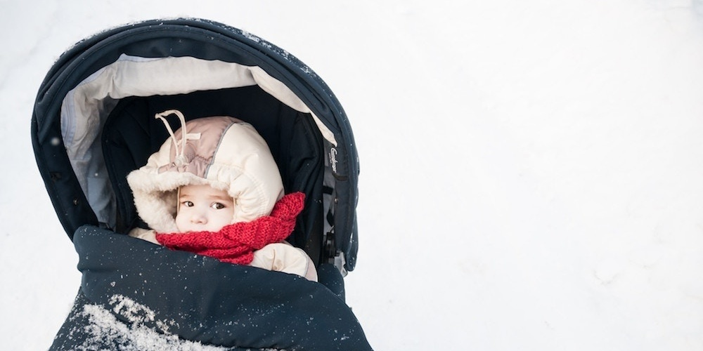 How cold is *too cold* for a baby to go outside?