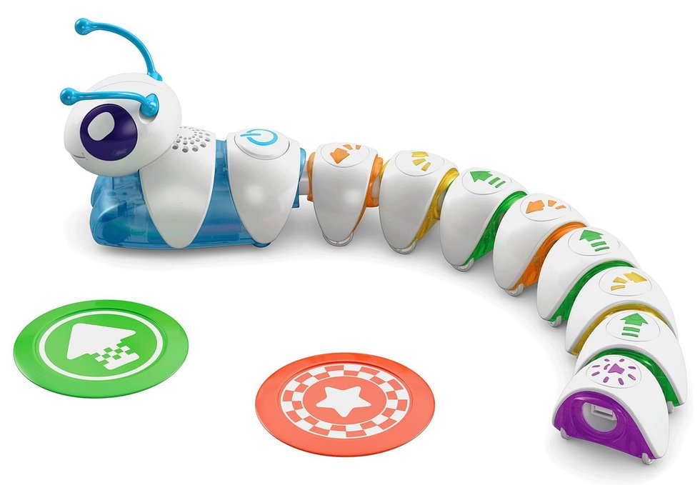 picture of a Fisher Price Code-a-pillar
