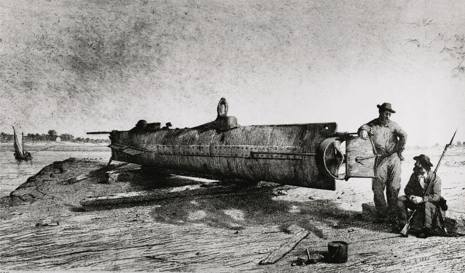 why were submarines important in the civil war