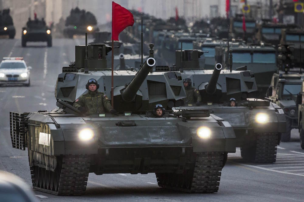 Why Russia's New Tanks Are A Wake-Up Call For The US - Task