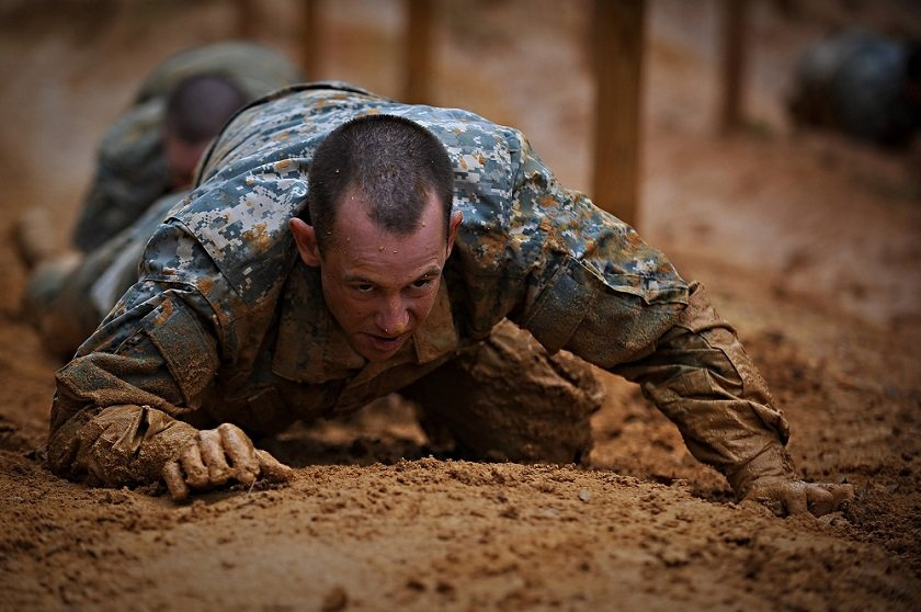 This Is What Privates Go Through During Army Basic Training - Task