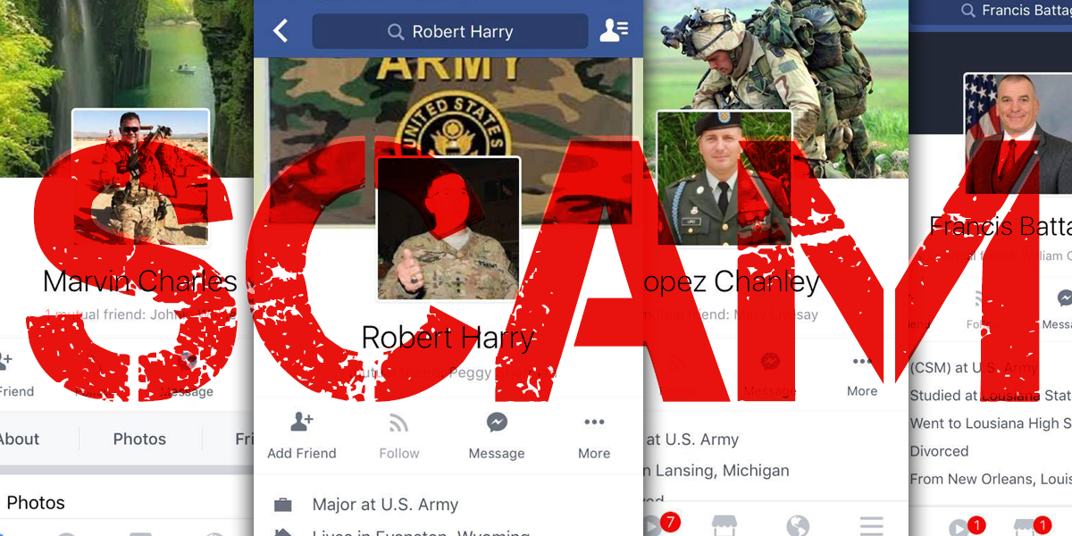 Online Dating Scams and the Military