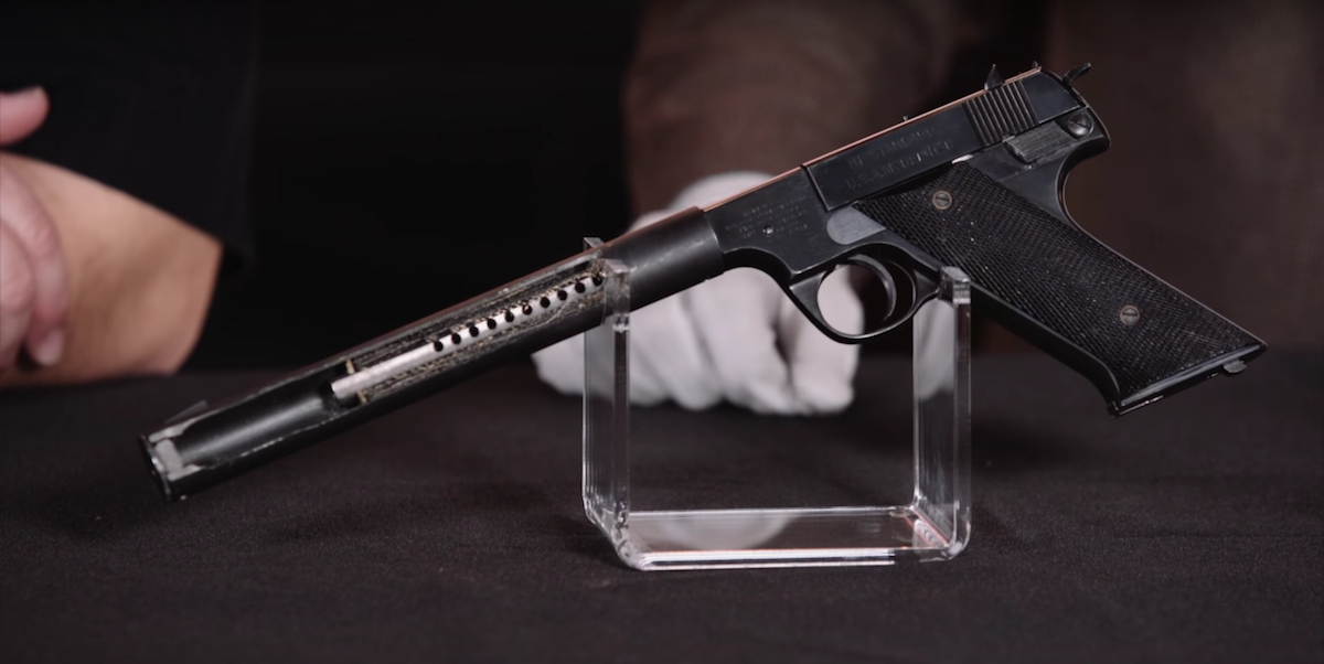 The History Of The CIA's Silent Pistol Of Choice - Task